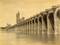 Les arcades du barrage, Nil