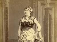 Untitled (portrait of 'Eugenie', an actress or dancer in Oriental dress)