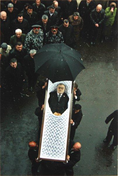 Funeral of Andranik Margaryan