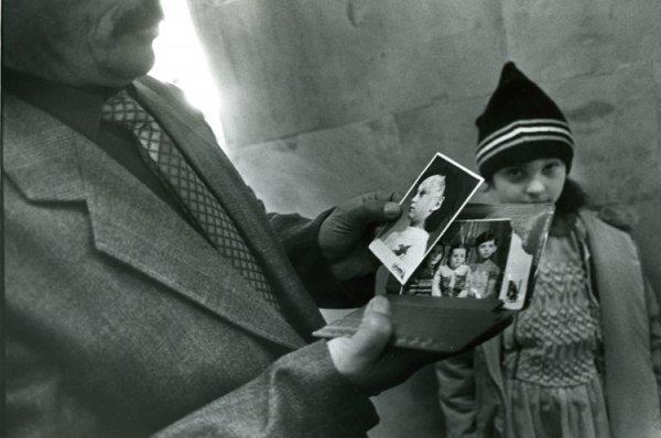 untitled from Earthquake, Armenia series [a survivor girl]