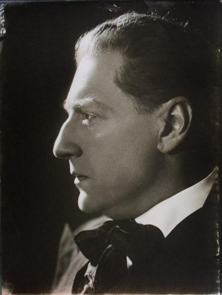 Portrait of film director Sacha Guitry
