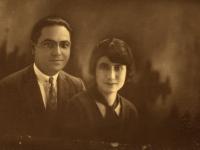 Portrait of a young Armenian couple