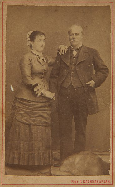 Untitled (portrait of a Western couple)