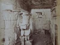 Thebes, Per. El Medinet. Vue interieure