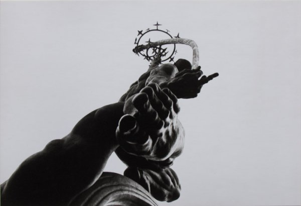 Untitled (detail of a statue)