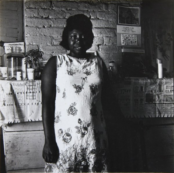 Untitled (Portrait of a New Orleans woman in her kitchen)