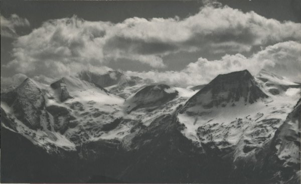 Untitled (mountains in clouds)