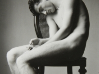 untitled (male nude on a chair)