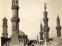 Group of minarets. View from El-Azhar