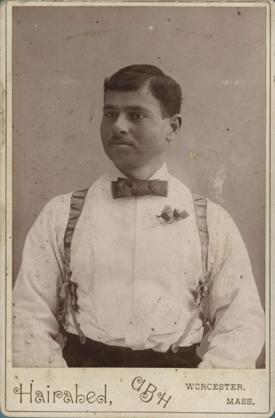 Untitled (portrait of a man with a bow-tie)