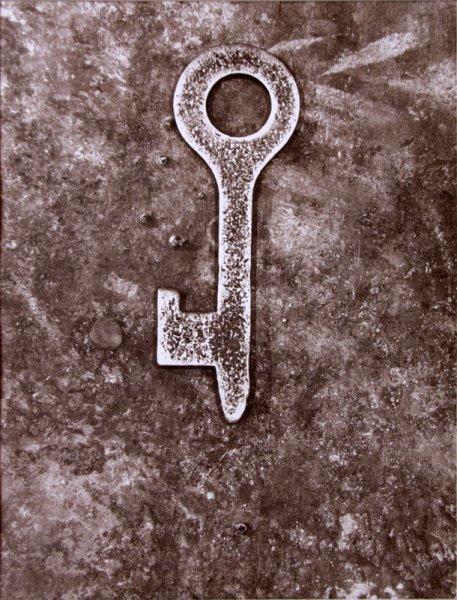 Untitled (metal key)