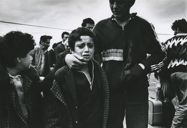 Untitled (refugee children from Karabakh)