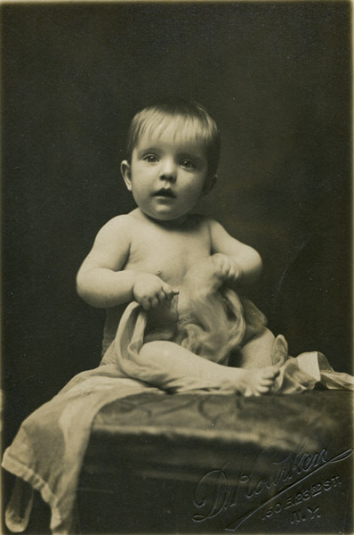 untitled (studio portrait of a child)