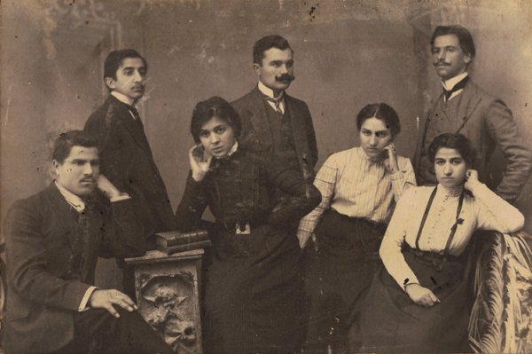 Group of Armenian intellectuals