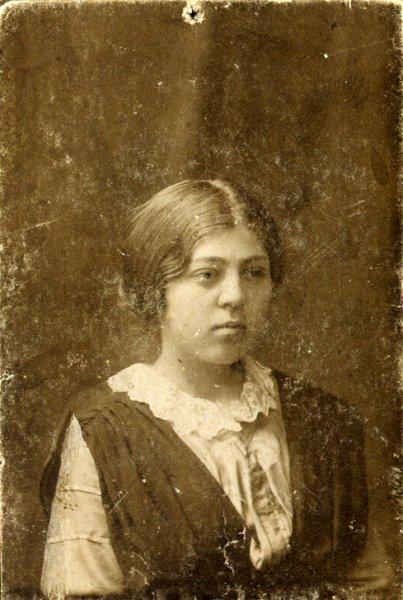 Lyuda's portrait