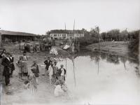 untitled (Persian men fishing)