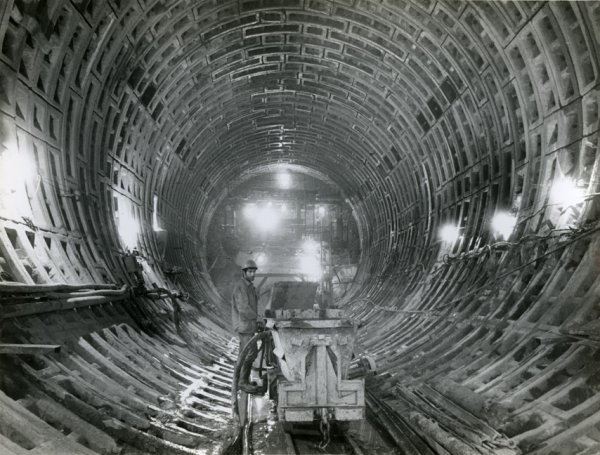 Untitled (construction of Yerevan's subway)