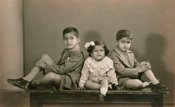 Untitled (portrait of three siblings)