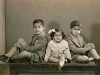 Untitled (portrait of three siblings)