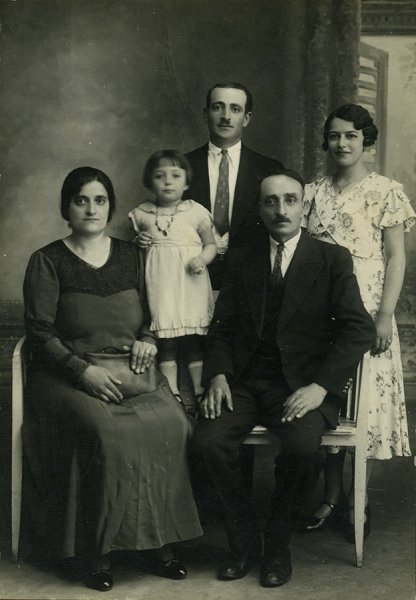 Portrait of an Armenian family