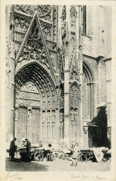 South door, Rouen