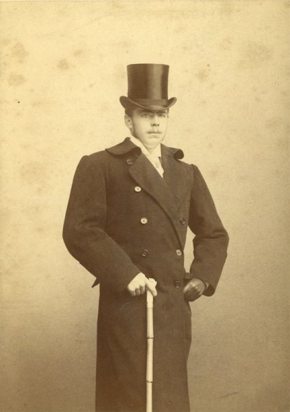 untitled (portrait of a gentelman with top hat)
