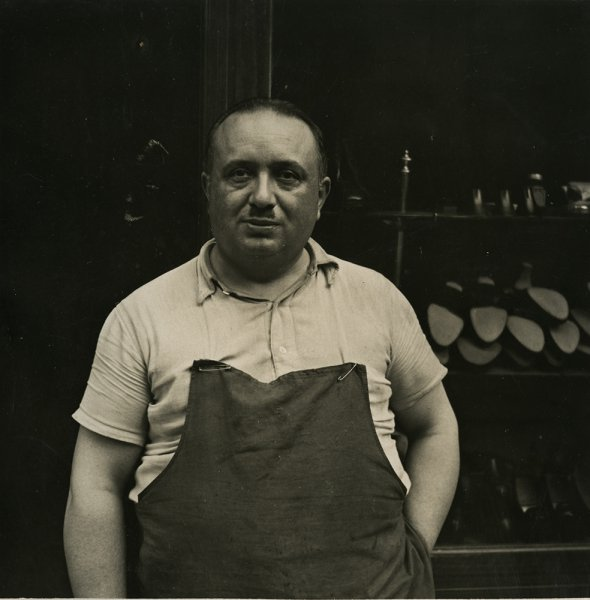 Untitled (Portrait of a shoemaker)