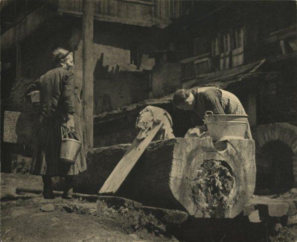 Untitled (women at a washing basin)